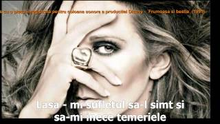 Céline Dion   A New Day Has Come Tradus ROMANA Obl HD