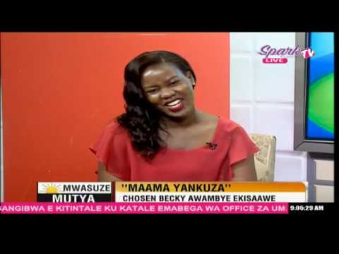 MWASUZE MUTYA: Chosen Becky awambye ekisaawe