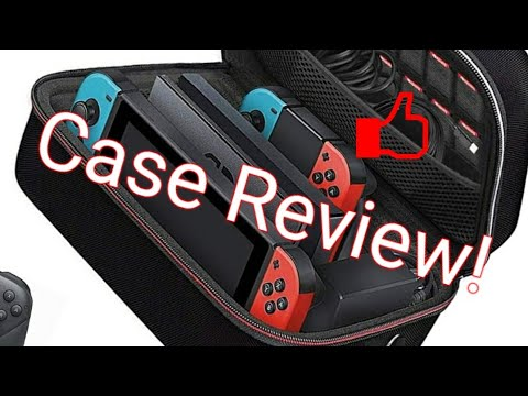 Ivoler Carrying/Storage Case for Nintendo Switch REVIEW