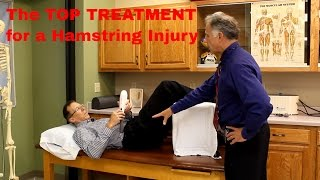 The Top Treatment for Hamstring Injury, Pull, Tear, or Strain- Quick Recovery.