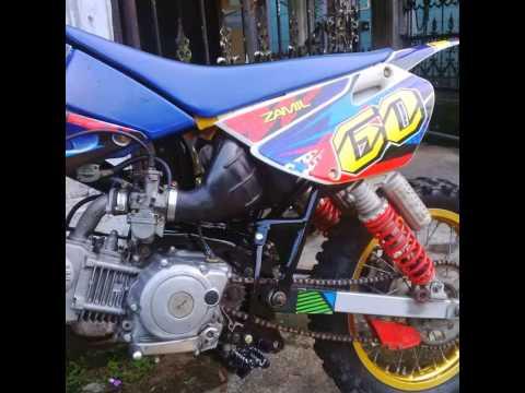Video Video Modifikasi Motor Bebek 4Tak Yamaha Jupiter Z 2008'' Trail Motor Grasstrack''