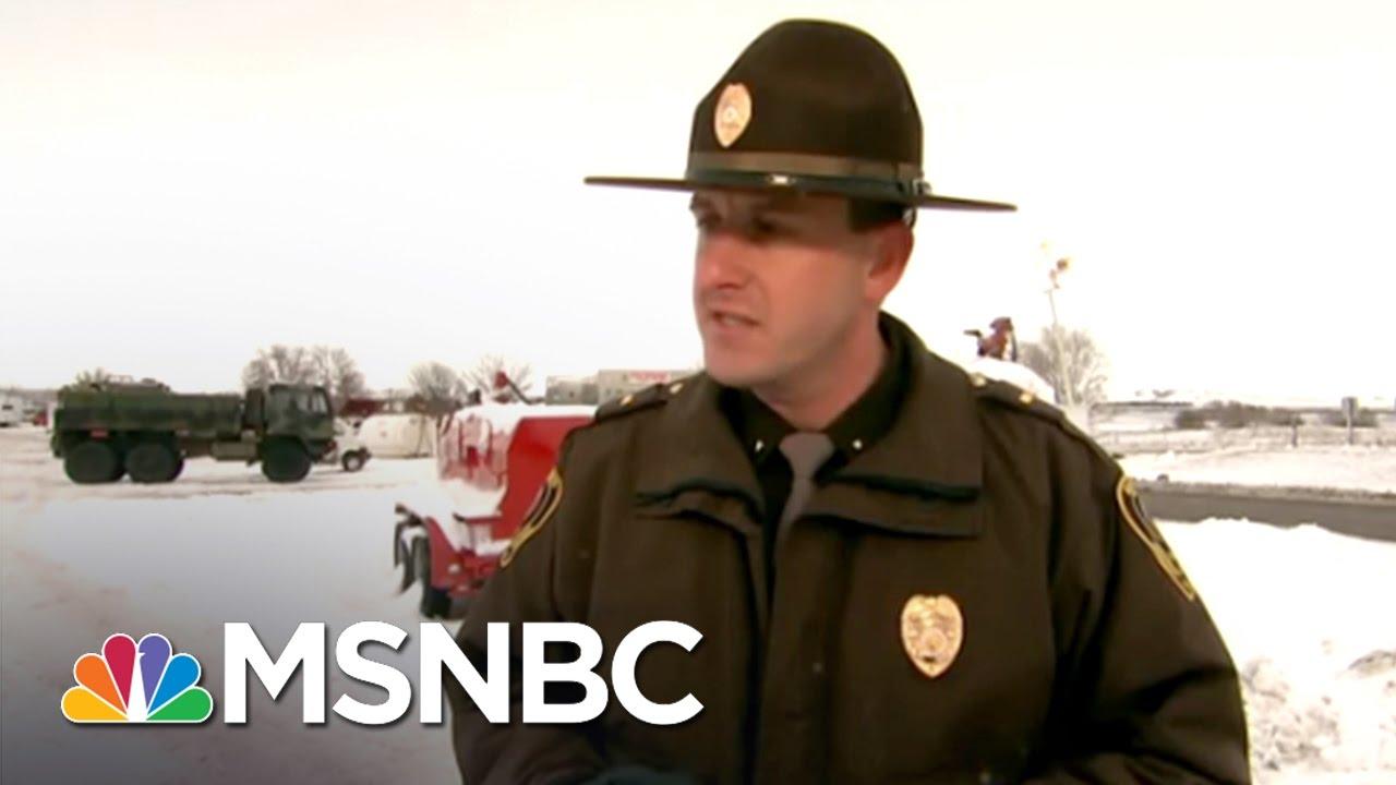 Veterans Take Action To Protest Dakota Access Pipeline | MSNBC thumbnail