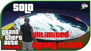 [SOLO] MEGA EASY UNLIMITED MONEY GLITCH *ORBITALKANONE*   GTA 5 Online   Saliival
