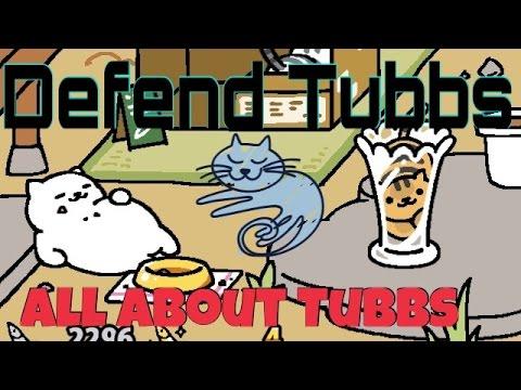 Neko atsume defending tubbs! All about tubbs