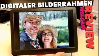 Digitaler 10 Zoll HD Bilderrahmen mit vielen Features - Taugt der was oder lieber Finger weg ?  TEST