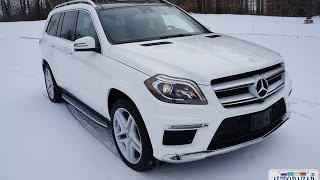 Смотреть онлайн Обзор семиместного авто Mercedes-Benz GL550 2014