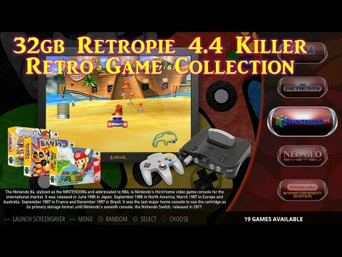 VLC 32GB EXTREME RETROPIE RASPBERRY PI IMAGE NOVEMBER 2018