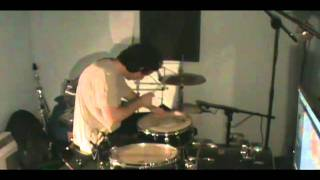 Battles Race In Drum Cover