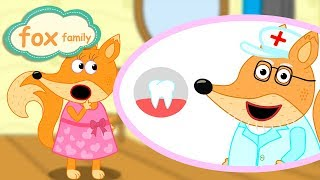 Fox Family and Friends new funny cartoon for Kids Full Episode #107