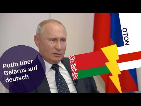 Putin über Belarus auf deutsch [Video]