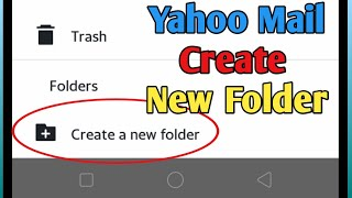 How to Create New Folder in Yahoo Mail | Yahoo Mail Tutorial