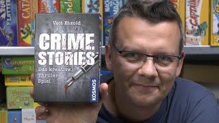 Crime Stories - Kreativ sein und Thriller spielen bzw. selbst erstellen (Kosmos) - ab 16 Jahre