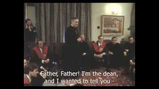St Josemaria at the Moncloa Students Residence in Madrid
