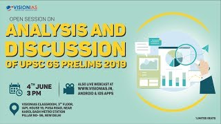 Analysis and Discussion of UPSC GS Prelims 2019