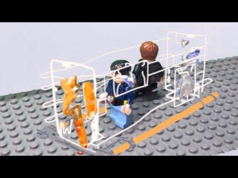 LEGO Kamen Rider Build  Cross-z Build Henshin Scene クローズビルド