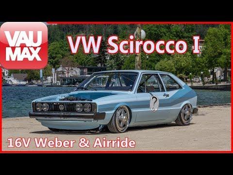 Sebastian Berndt´s 1976er VW Scirocco I im Tiefenrausch by VAU-MAX.tv
