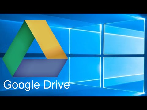 Beginner's Guide To Google Drive For Windows - Backup And Sync 2018 Tutorial Mp3