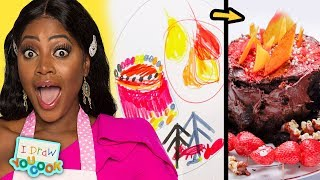 Can These Chefs Turn A Kid's Dragon Drawing Into Delicious Dishes? • Tasty