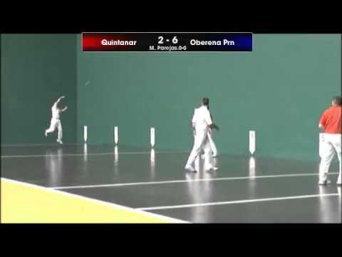 Pelota Cto. España de Clubes. Final Mano Parejas (1)