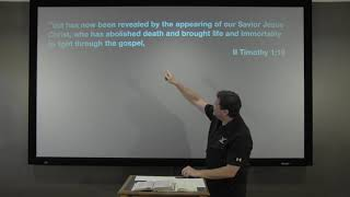 Studies in John - #33: The Christ That Deals With Death