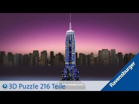 Ravensburger 3D Puzzle: Empire State Building bei Nacht