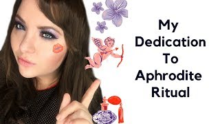 Aphrodite Dedication Ritual L About Aphrodite Correspondances