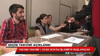 Seçim takvimi açıklandı