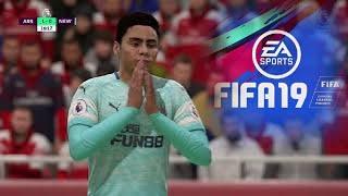 ARSENAL VS NEWCASTLE | FIFA 19 | PlayStation Predicts