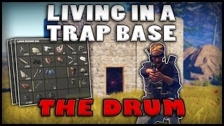 LIVING IN A TRAP BASE - The Drum (Rust)