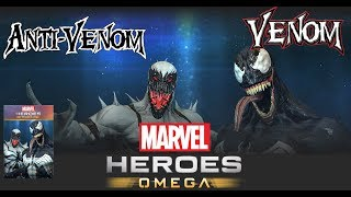 Marvel Heroes Omega VENOM and ANTI-VENOM Symbiote Infestation Stream (Xbox One)