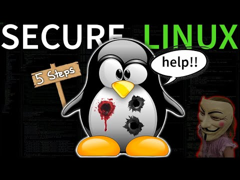 5 Steps to Secure Linux (protect from hackers)
