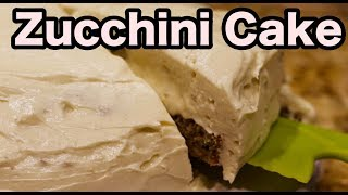 chocolate zucchini cake using cake mix