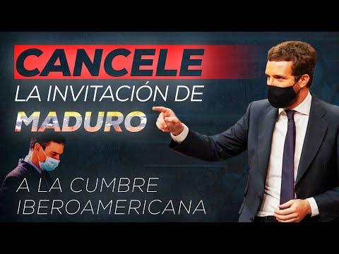 Sr. Sánchez, cancele la invitación de Maduro a la ...
