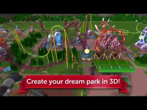 Vídeo do RollerCoaster Tycoon Touch