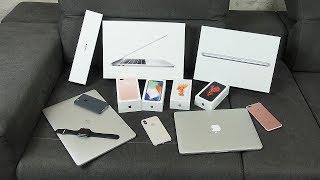 Моя коллекция Apple. Потратил 10 000$ Куча iPhone и MacBook!