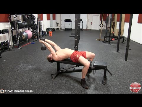 Dumbbell Pullover (on apparatus)