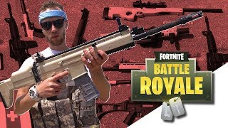 Fortnite Airsoft Guns in Real Life!
