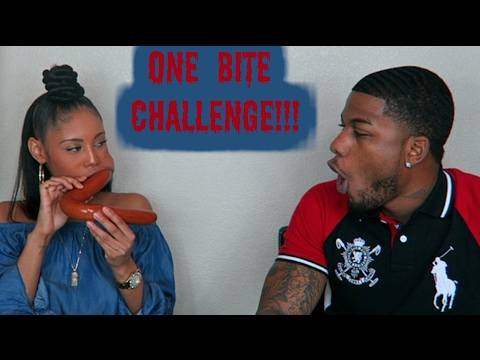ONE BITE CHALLENGE (HARDEST CHALLENGE EVER)