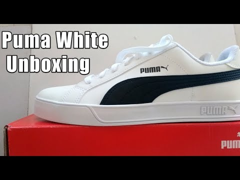 Puma White Casual Shoes Unboxing Best Cheapest Shoes || Hindi Review ||