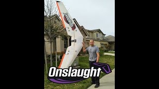 Sweepwings - Onslaught 11 foot FPV wing