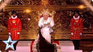 The Queen Dishes Out A Royal Roasting! | Semi-Finals | BGT 2019