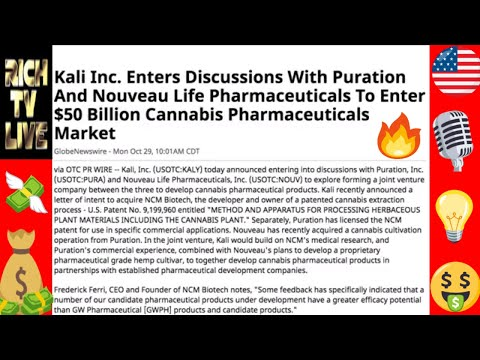 I just bought 750000 shares of Kali Inc (KALY) 🚀🔥 up 2350% in 13 days