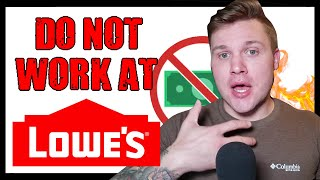 Lowe's Is In Trouble! | How Is This Legal? | Employees Message Me | Lowes