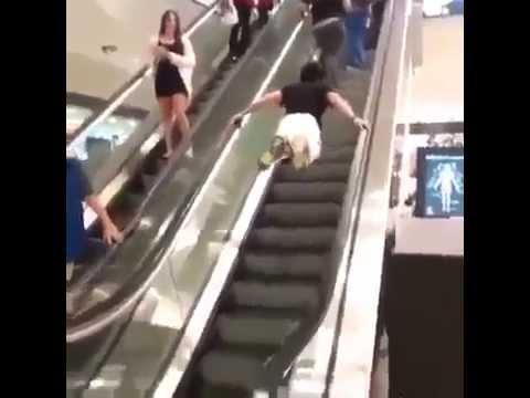 Elevating in an Escalator