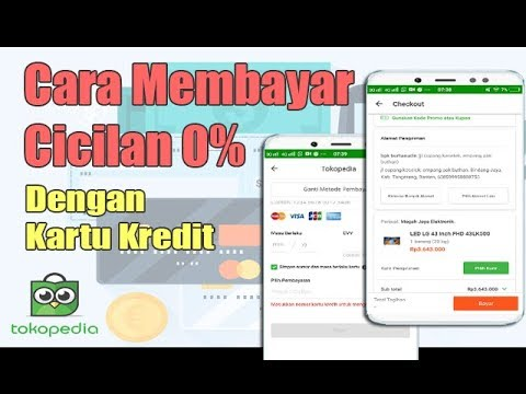 Cara Membeli Barang CICILAN 0% Menggunakan Kartu Kredit