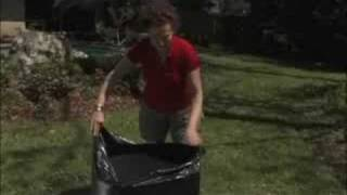 How to keep leaf bags from ripping!