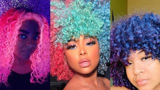 Color Hair Wax || COMPILATION 2019 🌈