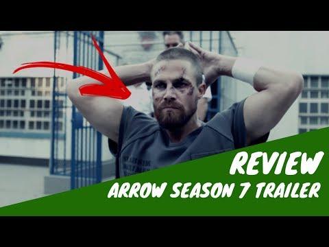 ARROW 7 TEMPORADA TRAILER COMIC CON REVIEW - Arrow Season 7