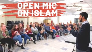 Christian Students told to ask any question on Islam...and they did!