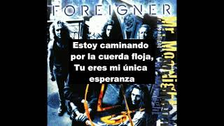 Foreigner - Running The Risk (Sub Español)